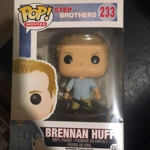Step Brothers Funko POP Brennan Huff with sword